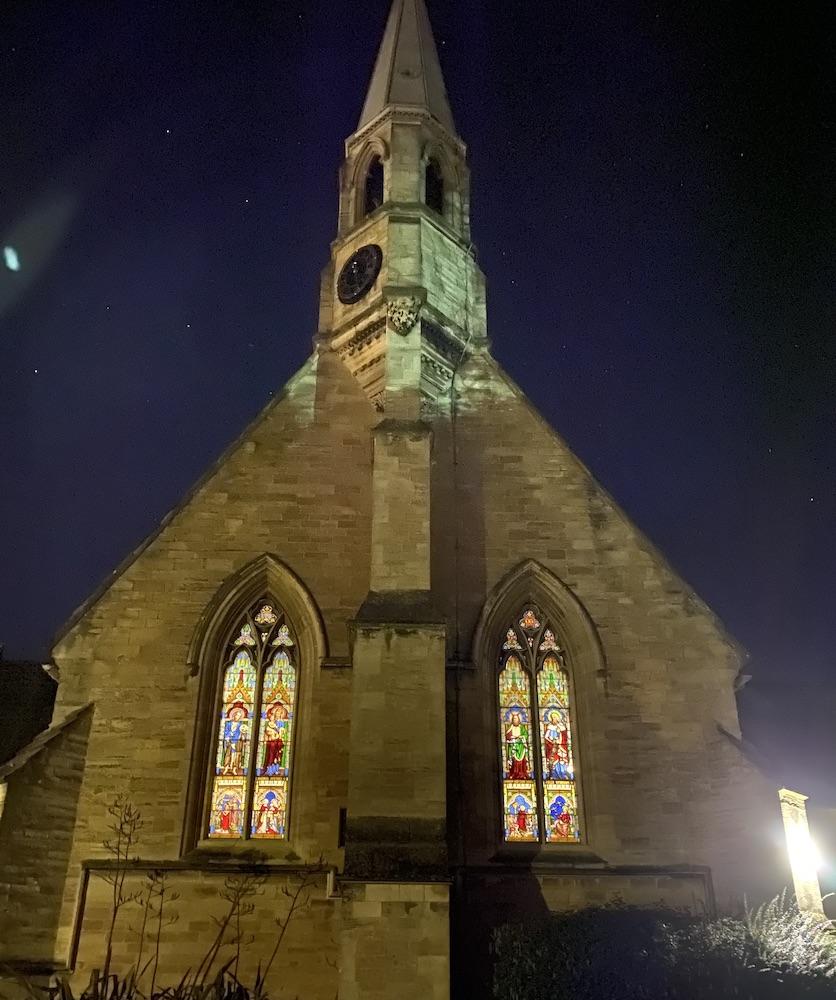 Church at Night 2